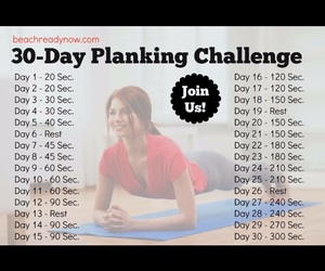 challenge, fit, and plank image