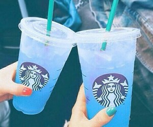 aesthetic, nails, and blue image