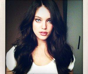 model, Emily Didonato, and hair image