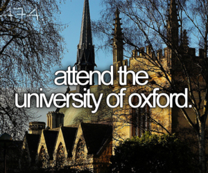 before i die and oxford image