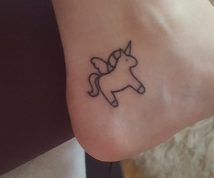 tattoo, ًًًًًًًًًًًًً, and unicorn image