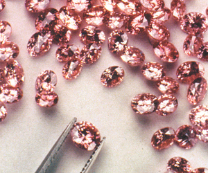 pink, diamond, and rose gold image