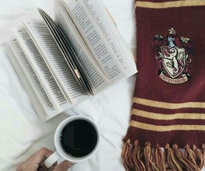 book, harry potter, and gryffindor image