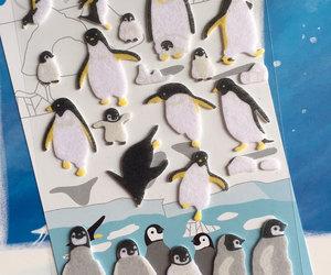 iceberg, king penguin, and south pole image