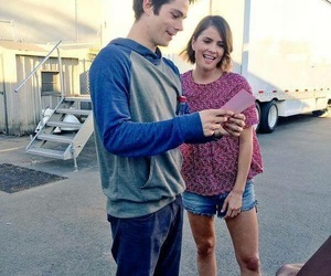 teen wolf, dylan o'brien, and stalia image