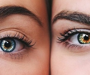 eyes, blue, and beauty image