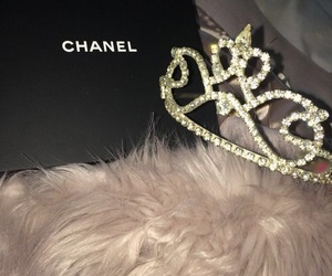 chanel, crown, and luxury image