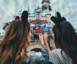 disney, friends, and bff image