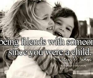 friends, child, and friendship image