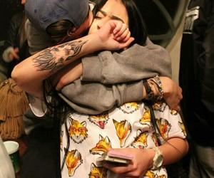 guys, Tattoos, and parejas image