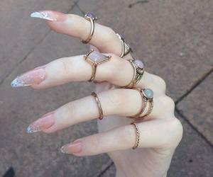 magic, rings, and nails image