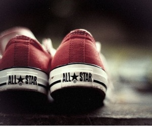 converse, all star, and red image
