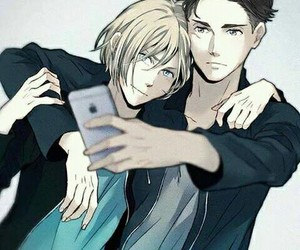 yaoi, yuri on ice, and otabek x yurio image