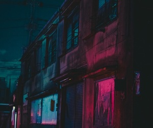 grunge, light, and city image