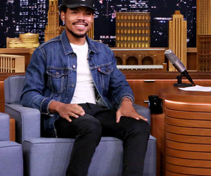 coloring book, chano, and chance the rapper image