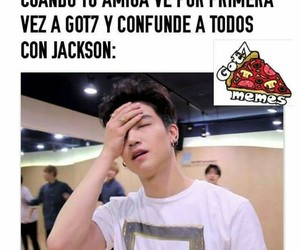 got7, got7 memes, and kpop memes en español image