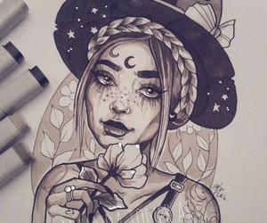 draw and witch image