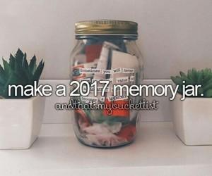 2017, jar, and memories image
