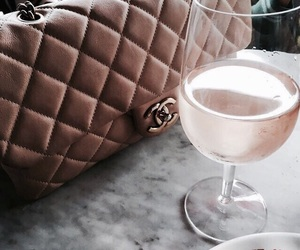 fashion, chanel, and drink image