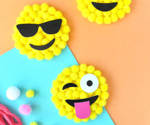 pompom and emoji image