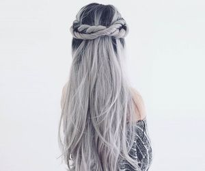 hair, girl, and beautiful image