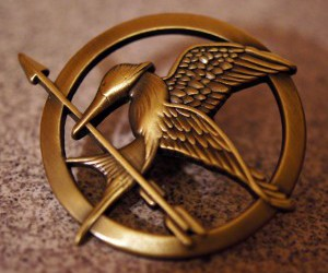 bronze, the hunger games, and katniss image