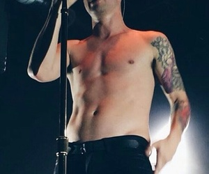 brendon urie, dark, and concert image