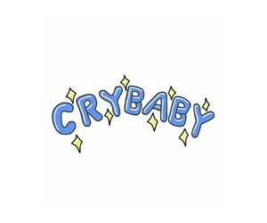 cry baby, header, and twitter image