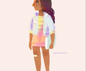 art, connie, and steven universe image