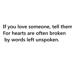 heart, unspoken, and love image