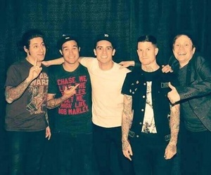 fall out boy, FOB, and panic! at the disco image