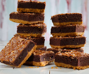 brownies, fudge, and caramel image