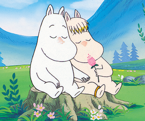 moomin, childhood, and japan image