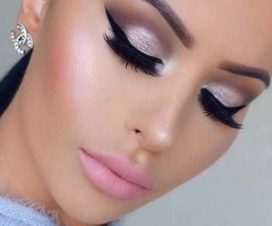 makeup, beauty, and pretty image