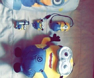 fofura, minions, and yellow image