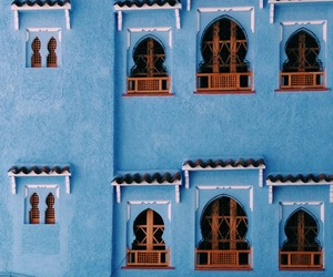 blue and architectures image