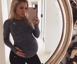 pregnant, baby, and tammy hembrow image