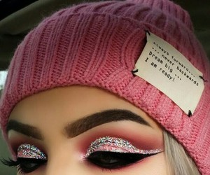 brilliant, hat, and make up image