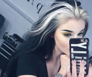 alternative, hair goals, and dyed hair image