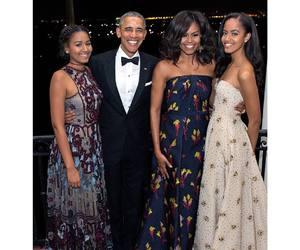 barack obama, family, and happy image