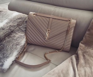 bag, fashion, and YSL image