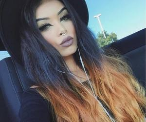 47 Images About Black And Orange Hair On We Heart It See More