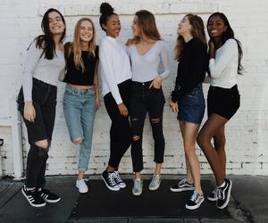friendship, fashion, and girls image
