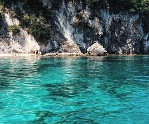 beautiful, Greece, and green image