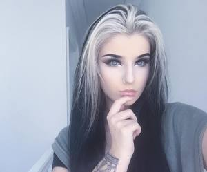 129 images about Black and white hair on We Heart It | See more ...