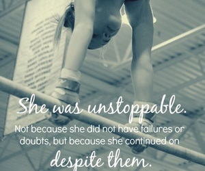 gymnast, quote, and live image
