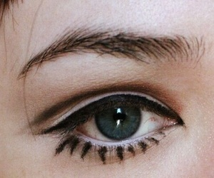 makeup, eyes, and fashion image