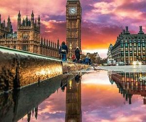 beautiful place, Big Ben, and amazing sky image