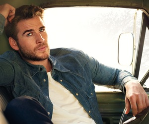 liam hemsworth, actor, and Hot image