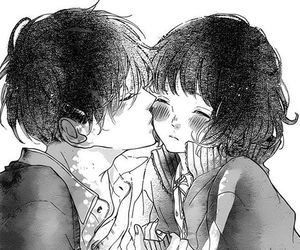 manga, kiss, and couple image